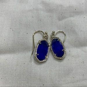 Kendra Scott blue earrings